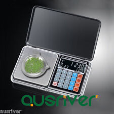 200g/0.01g High Precision Digital Pocket Scale Jewelry Scales Weight Poise New