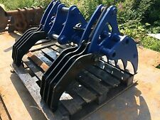 4-6 Hydraulic Land Clearance Rake 3-1 CAT KUBOTA JCB KOMATSU CASE TAKEUCHI