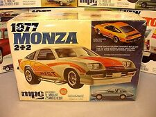MPC 1977 CHEVY MONZA 2+2 ANNUAL #1-7716 77 1/25 AMT MINT SEALED INSIDE MODEL KIT