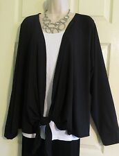 NWT Gorgeous Black Studio Over Top Lane Bryant LIVI Active Plus 18/20 (1X/2X)