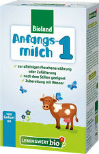 Holle Lebenswert Organic Infant Formula Stage1 (3-boxes) New from Germany 08/17