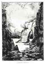 Das VERFLUCHTE KIND - Émilien DUFOUR zu BALZAC - 2 OriginalRadierungen 1931