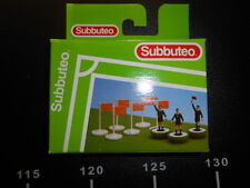 SET LINESMAN REFEREE CORNER FLAGS 61240 Table Soccer Football Game