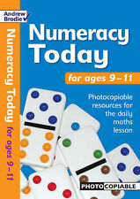 Numeracy Today for Ages 9-11 by Andrew Brodie (Paperback, 2005)