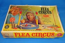 1965 MATTEL FLEA CIRCUS THE MAGNETIC ACTION GAME YOU ITCH TO PLAY 5419 BOX PROPS