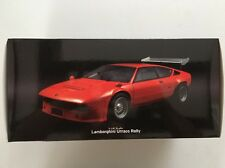 KYOSHO 08444P LAMBORGHINI URRACO RALLY 1/18 ORANGE 1:18 High Wing READ!