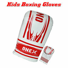 Boys/Girl Boxing Gloves Punch Bag Sparring Training Mitt MMA Boxing Training 6oz