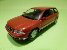 MINICHAMPS AUDI A4 AVANT - ORANGE METALLIC 1:43 - RARE SELTEN - EXCELLENT