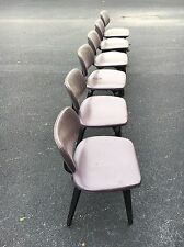 Set Of 6 Vintage Bentwood Dining Chairs By Thonet Made In USA