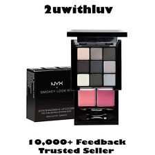 NYX COSMETICS NYX SMOKEY LOOK KIT - 9 EYESHADOWS 2 LIP COLORS PALETTE FAST POST