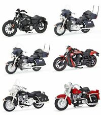 6 PCS HARLEY DAVIDSON MOTORCYCLE SET SERIES 33 1:18 BY MAISTO 31360-33