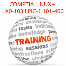 COMPTIA Linux+ LX0-103 and LPI LPIC-1 101-400 - Video Training Tutorial DVD