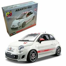FIAT ABARTH 500 1:24 scale model car KIT diecast Bburago die cast models