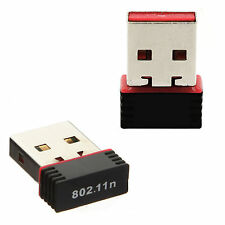 150Mbps Mini USB Wireless WiFi Adapter 802.11n/g/b LAN Internet Network Adapter