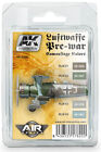 AK Interactive Luftwaffe Pre-War Camouflage Colors Set # 2320