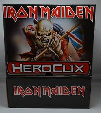 Neca WizKids IRON MAIDEN HeroClix Booster Box from Sealed case Never Opened