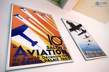 Paris Aviation Festival Poster - Paris 1926 - Digitally restored art