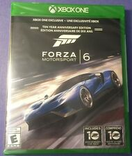 Forza Motorsport 6 Ten Year Anniversary Edition for Xbox One (New & Sealed)
