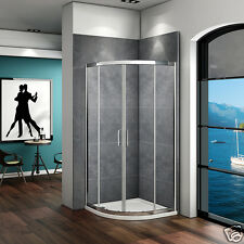 900x900 Quadrant Shower Enclosure Corner Cubicle And Stone Tray 6mm Glass Door