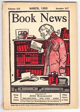 BOOK NEWS magazine March 1903 - Biographical sketch of Theodore L. Cuyler