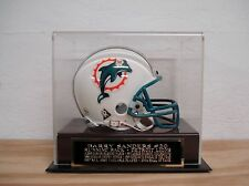 Display Case For Your Barry Sanders Detroit Lions Signed Football Mini Helmet