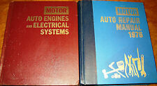 72 73 74 75 1976 MOTORS Service Manuals CHEVY FORD DODGE 'CUDA CORVETTE MUSTANG