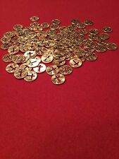 100 Cut Out Cross Pennies With 100 Cross Punch Outs