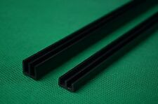 Clearance Bundle of 10 sets of 4mm black glass runners 60cm long