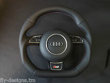 NEW Audi flat bottom multi steering wheel A3, S3, A4, S4, A5, S5, A6, S6