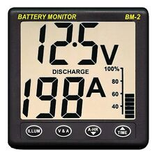 NASA Marine Clipper BM2 Battery Monitor Instrument 12 VOLT