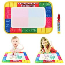 Funny Painting Drawing Water Pen Magic Doodle Aquadoodle Mat Board For Kid Toy