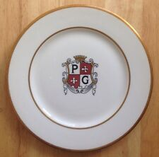1963 PRINCE GEORGE MOTOR HOTEL RESTAURANT WARE PLATE, VERSION 2, WASHINGTON, DC
