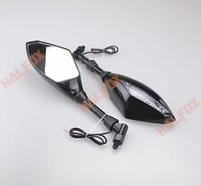 10MM A pair LED rear view mirrors for BMW F650GS F800R G450X