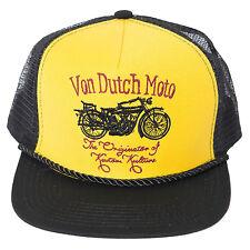 Von Dutch Men's Moto Trucker Hat-One Size