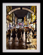 CARNABY STREET LONDON SOHO A3 ART DECO POSTER PRINT - LIMITED EDITION OF 100