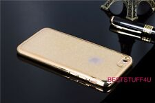 GLITTER BACK Fits IPhone  Soft Bling Shock Proof Silicone Case Plating Frame a@5