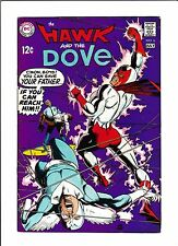 "HAWK & THE DOVE #6  [1969 GD-VG]  ""JUDGMENT IN A SMALL, DARK PLACE!"""