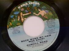 "GUNHILL ROAD ""BACK WHEN MY HAIR WAS SHORT / WE CAN'T RIDE ROLLER COASTER"" 45"