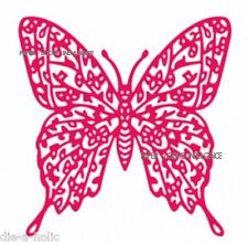 NEW• GORGEOUS •• LARGE NATURE LACE FLOWER BUTTERFLY DIE •FITS CUTTLEBUG  SIZZIX