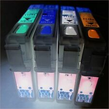 SET REFILLABLE EMPTY PRINTER CARTRIDGES EPSON STYLUS SX 115 200 205 210 NON OEM
