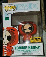 Funko Pop South Park #05 Zombie Kenny Hot Topic Exclusive