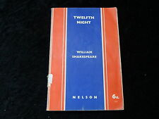1939 Paperback Reprint of Book - Twelfth Night by William Shakespeare