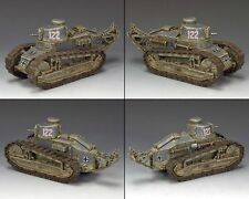 """KING&COUNTRY WW11 GERMAN FORCES """"RENAULT FT-17~122 WSS298 WS298 RESIN SCALE 1.30"""