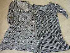 Womens Ladys dresses Marks spencer dress size 16 & next brown size 18 ex cond