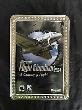 Microsoft Flight Simulator 2004: A Century of Flight (PC, 2003) Collectors Tin
