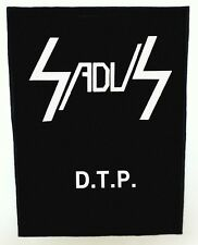 SADUS BACKPATCH / SPEED-THRASH-BLACK-DEATH METAL