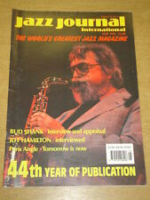 JAZZ JOURNAL INTERNATIONAL VOL 44 #5 1991 MAY BUD SHANK JEFF HAMILTON