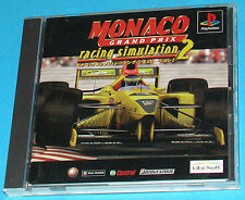 Monaco Grand Prix Racing Simulation 2 - Sony Playstation - PS1 PSX - JAP Japan