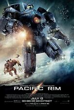 Pacific Rim Movie Poster Go Big or Go Home Full Size Print, 24x36