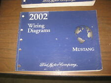 2002 FORD MUSTANG TRUCK ELECTRICAL FACTORY SERVICE MANUAL WIRING DIAGRAM MANUAL